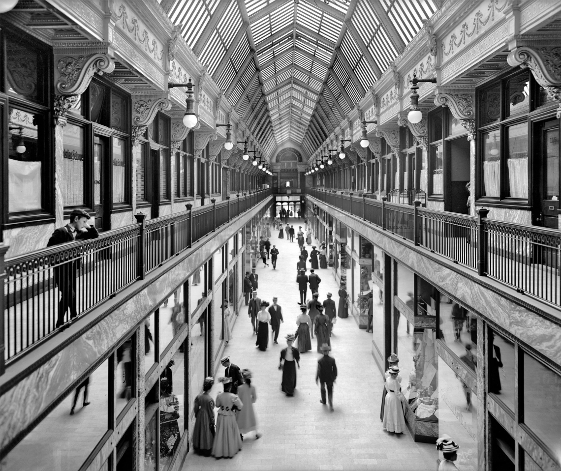 The Colonial Arcade 1909