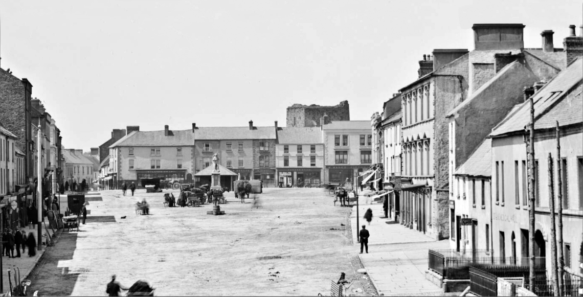 Thurles Main Street Looking West 1885