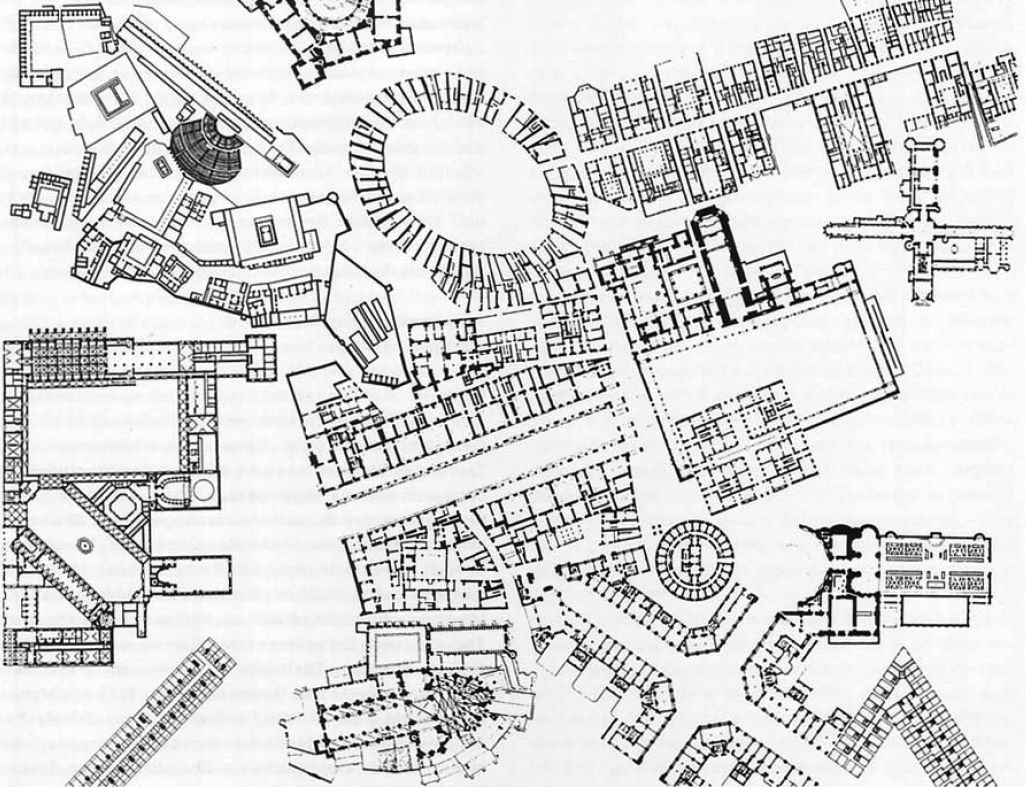 the plan game the origins of collage city looking cities 1970s News city posite