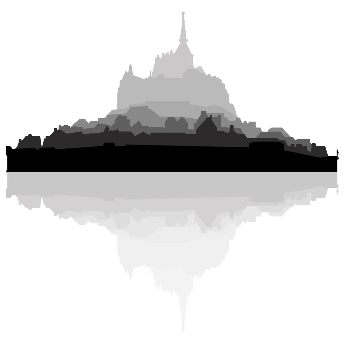 Mont San Michele Silhouette copy.jpg
